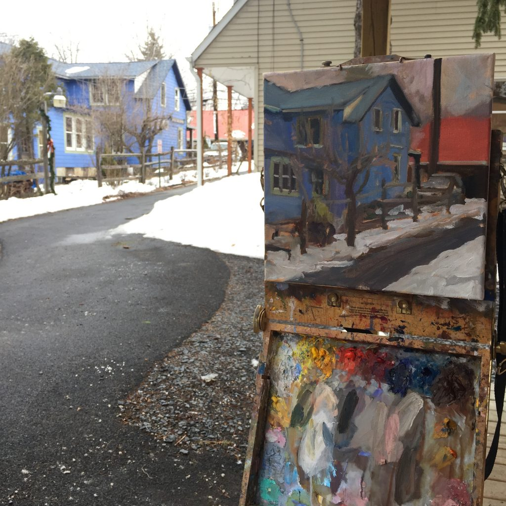 Plein Air in Sugarloaf Workshop